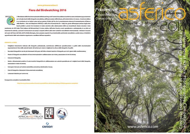 imagen ganadora del concurso Asferico, utilizada como cartel de presentación del Festival.